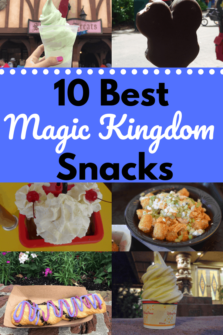 10 Best Magic Kingdom Snacks Collage