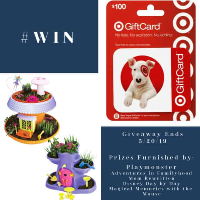 $100 Target Gift Card and My Fairy Garden Giveaway