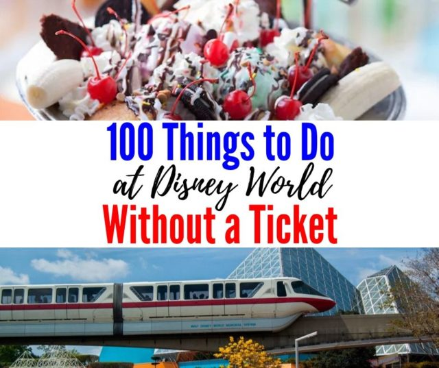 disney world without a park ticket
