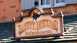 Sleepy Hollow Refreshment Sign