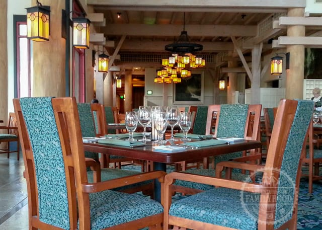 Artist Point restaurant at Disney's Wilderness Lodge