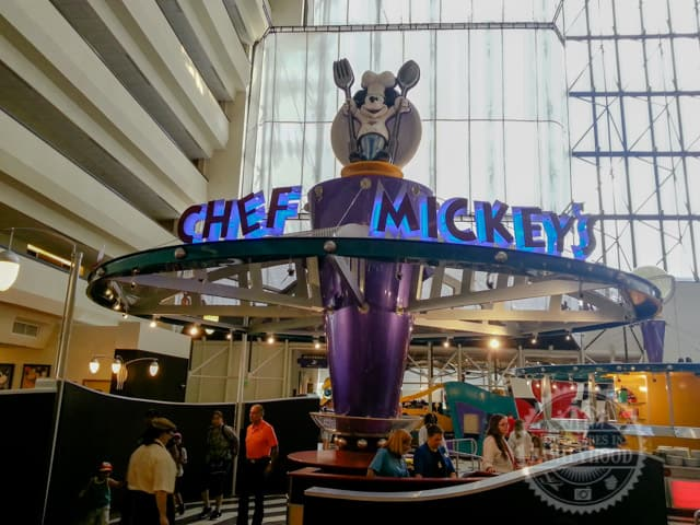 Chef Mickey's restaurant at Disney's Contemporary Resort