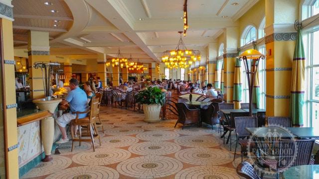 Citrico's restaurant at Disney's Grand Floridian Resort