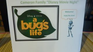 """A Bug's Life"" Family Movie Night"
