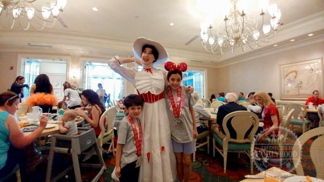 Supercalifragilistic Breakfast with Mary Poppins at Disney's Grand Floridian Resort