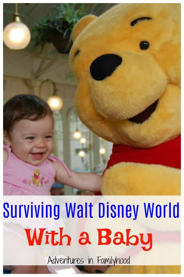 Tips and Tricks for Surviving Walt Disney World with a Baby