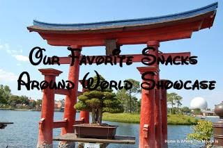 Epcot World Showcase Snacks