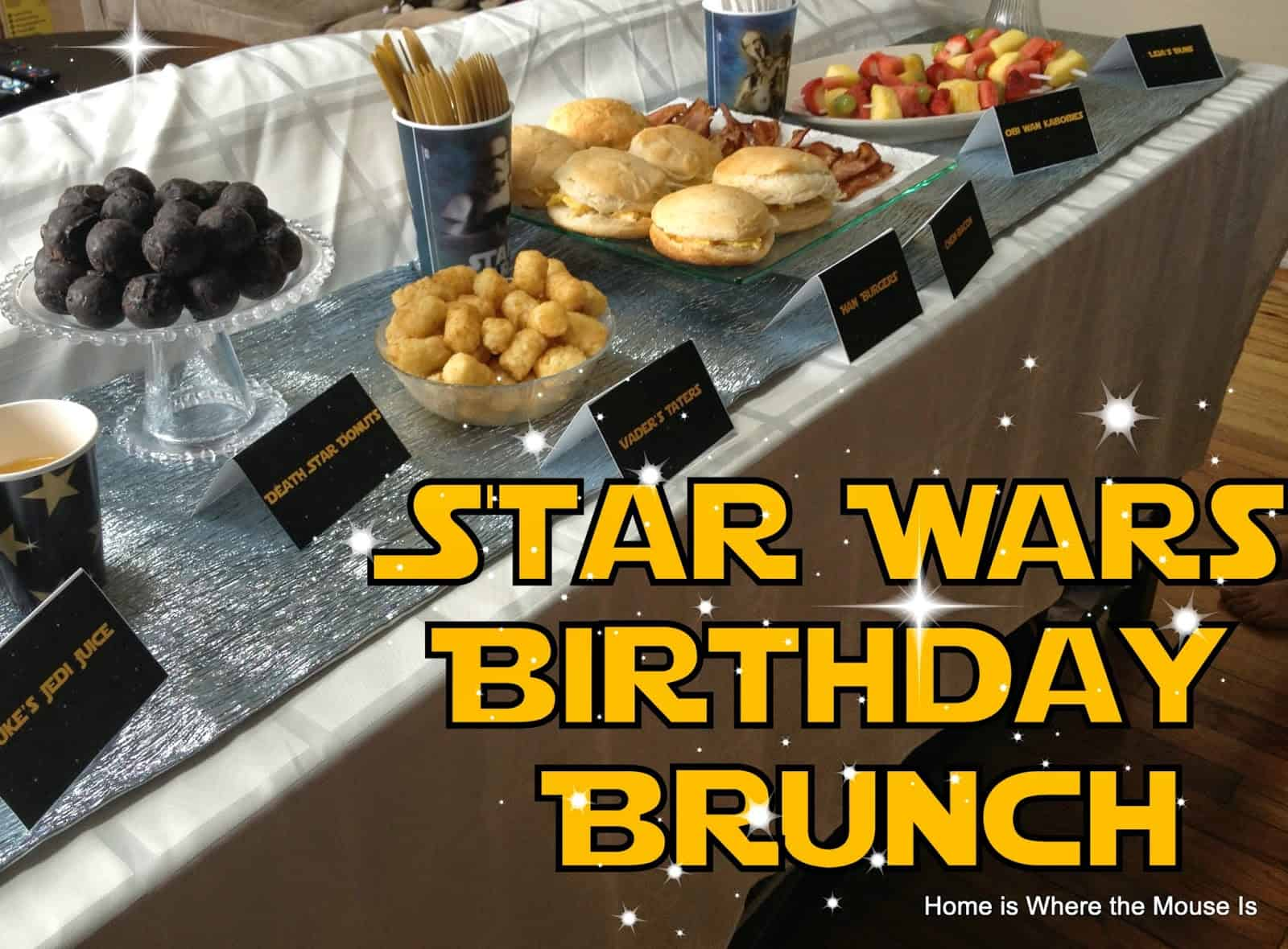 The Force Is Strong Star Wars Birthday Brunch