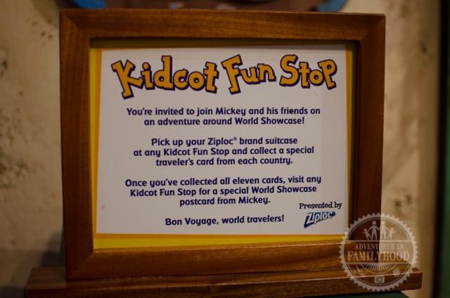 Epcot Kidcot Fun Stop by Ziploc Instructions