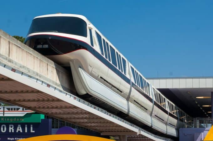 Walt Disney World Monorail Black at Transportation and Ticket Center