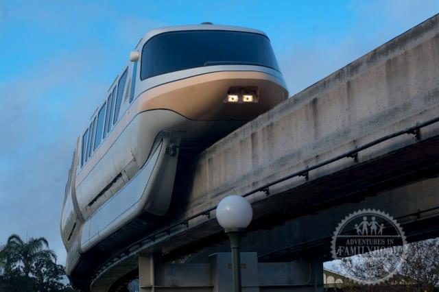 Walt Disney World Monorail Gold