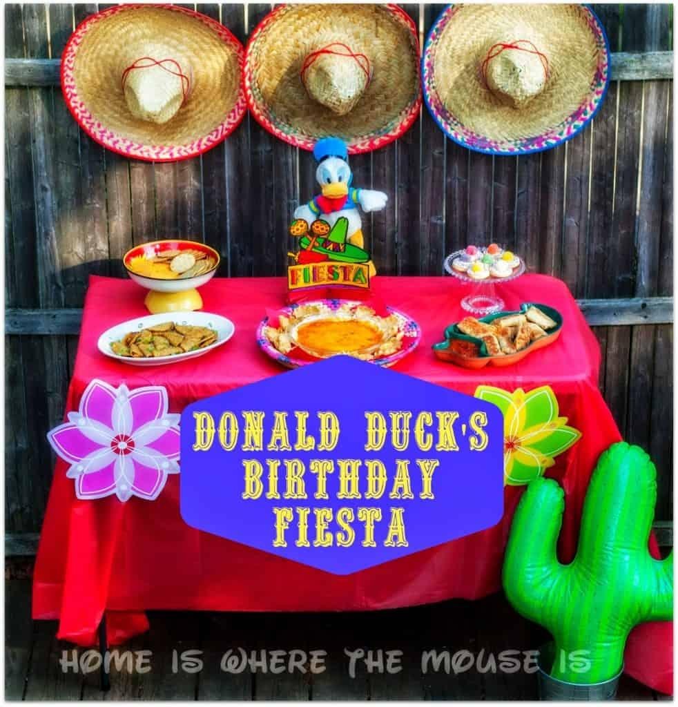 Donald Duck's Birthday Blog Hop