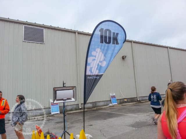 10k Marker of 2014 runDisney Walt Disney World Half Marathon