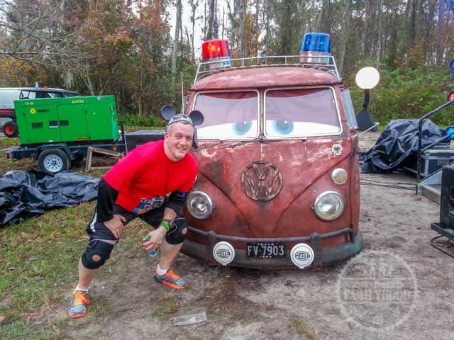 Filmore Photo Op Walt Disney World Half Marathon
