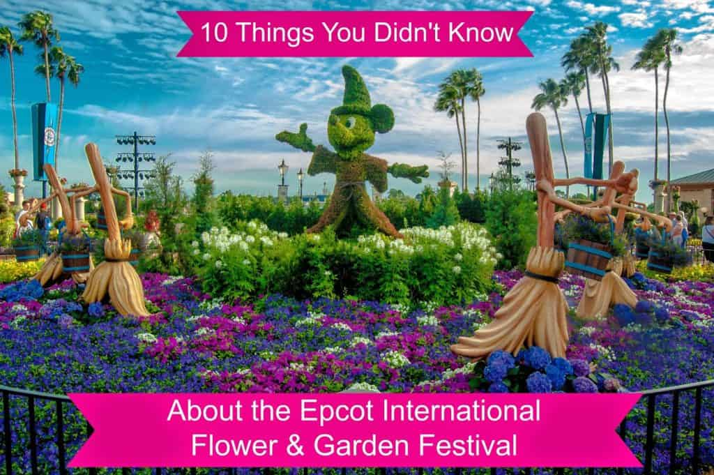 10 Things You Didn't Know - Epcot Flower & Garden Festival