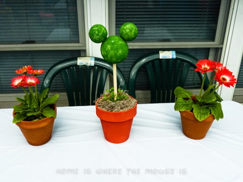 Mickey Mouse Topiary Centerpiece