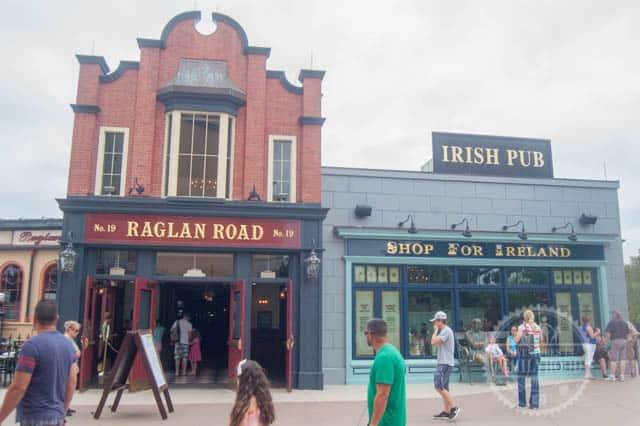 Raglan Road Restaurant and Pub at Walt Disney World