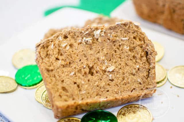 Slice of Irish Brown Bread
