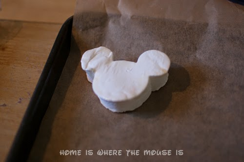 mickey mouse shaped marshmallow