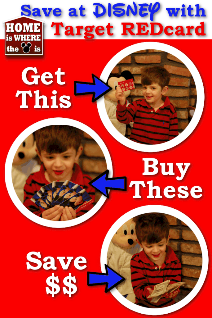 How to Save on Disney using Target REDcard | Adventures in Familyhood