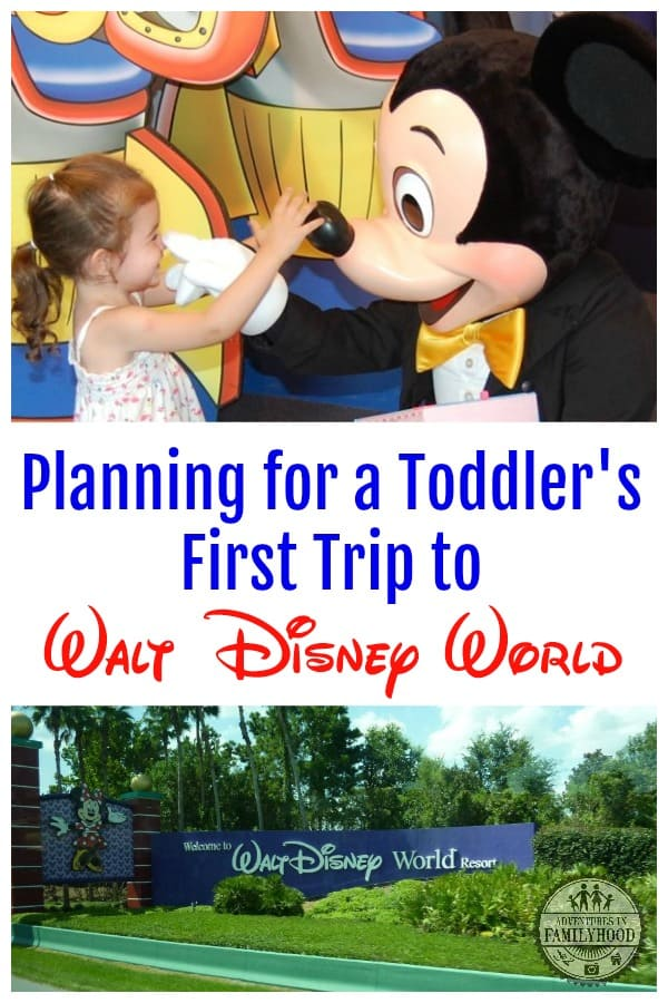 Planning for a Toddler's First Trip to Walt Disney World
