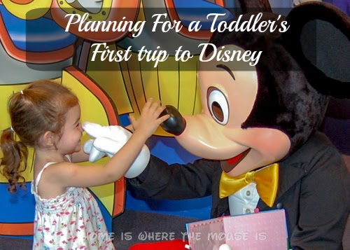 Planning for a toddler's first trip to Disney | Home is Where the Mouse is