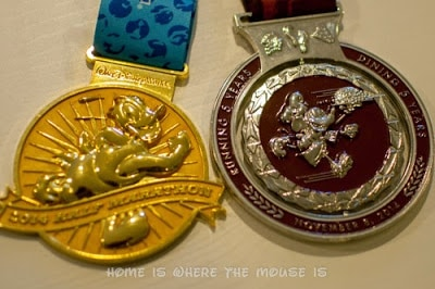 runDisney | WDW Half and Wine & Dine Half Medals