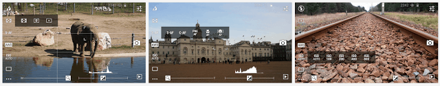 DSLR Camera Pro lets you use manual settings with your phone's camera
