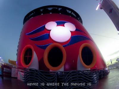 Funnel on the Disney Magic