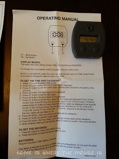 Instructions for Mickey Mouse MagicBand Watch Slider