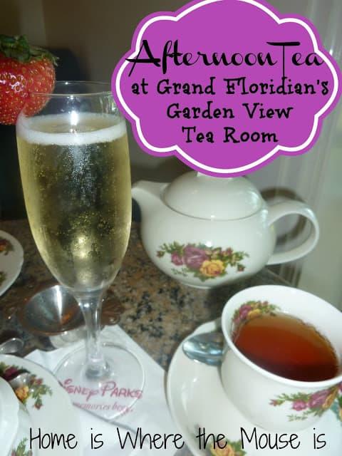 Afternoon Tea At Grand Floridian 39 S Garden View Tea Room Adventures In Familyhood