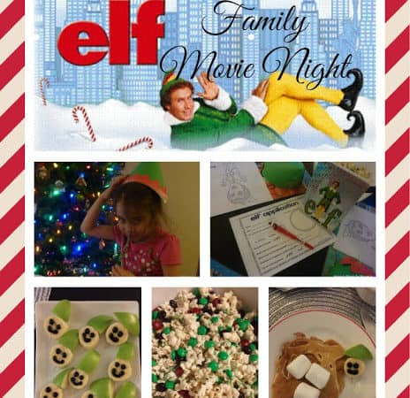 elf holiday movie night