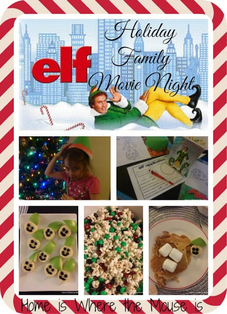 elf holiday movie night