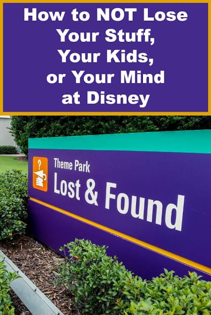 How to avoid visiting Disney's Lost & Found