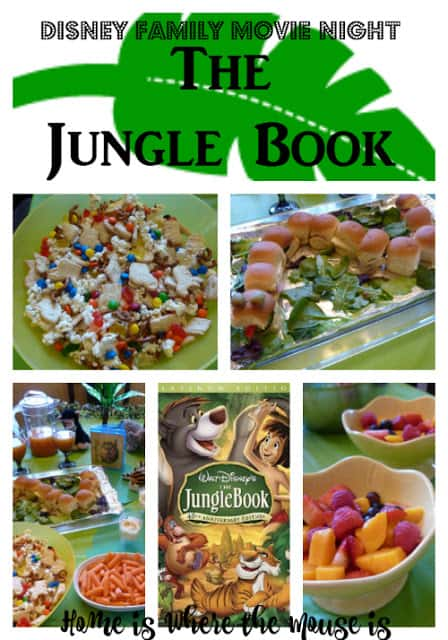 The Jungle Book Disney Family Movie Night