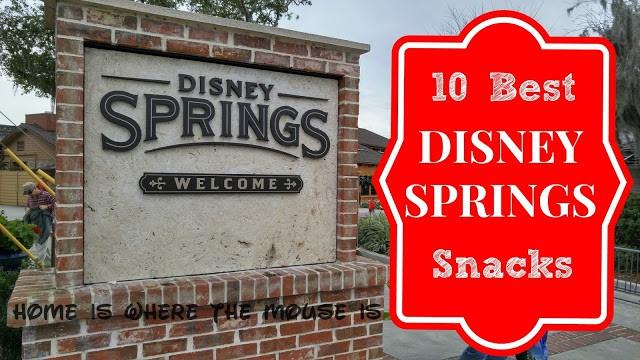 10 best disney springs snacks