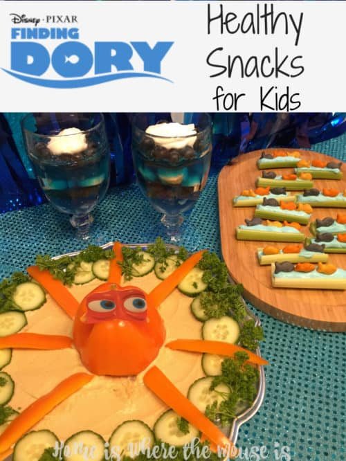 Finding Dory Snacks