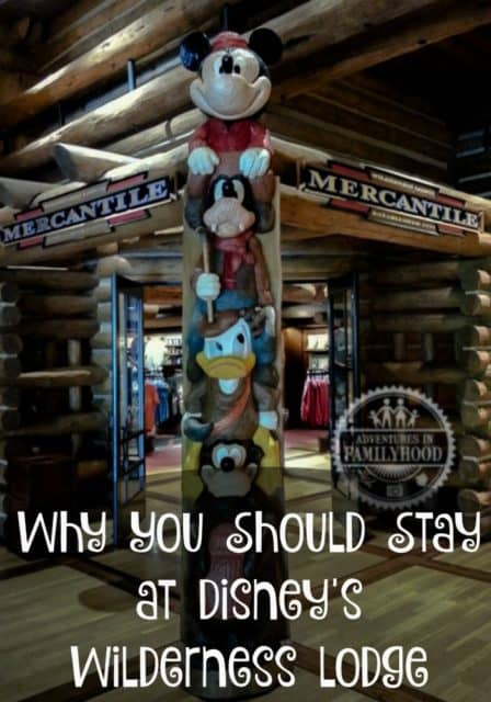 Why You Should Stay at Disney's Wilderness Lodge