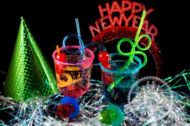 Ring Pop Mocktails for Kids   New Years Eve   Kids Parties