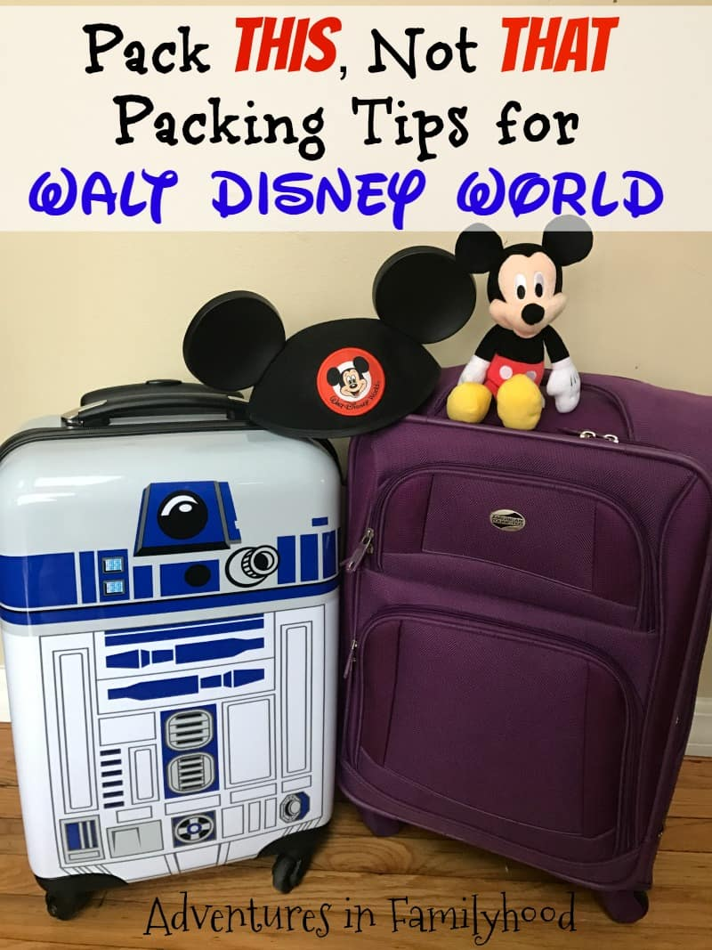 Packing Tips for Your Disney Vacation