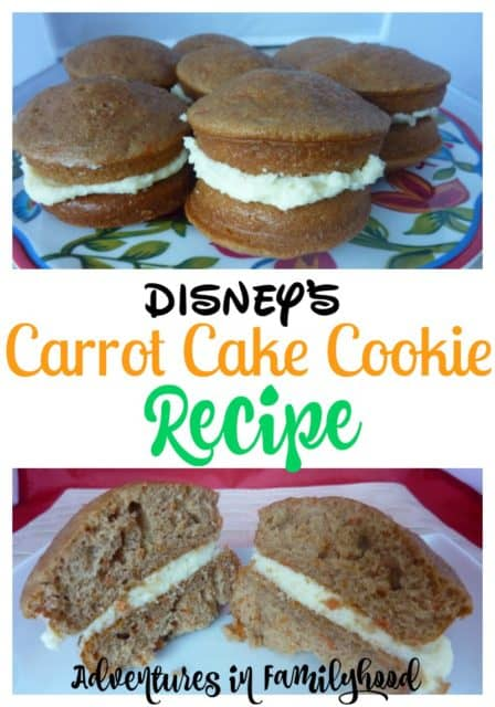 Disney's Famous Carrot Cake Cookie Recipe