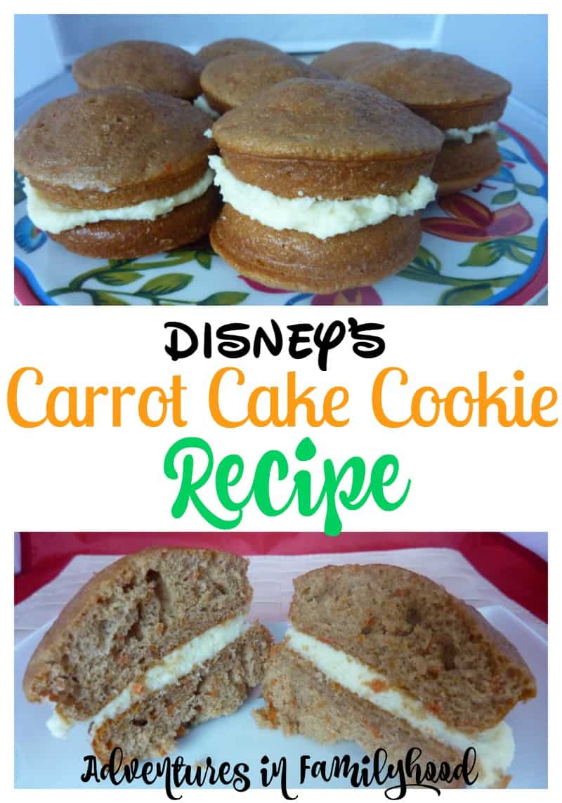 Disney's Famous Carrot Cake Cookie Recipe