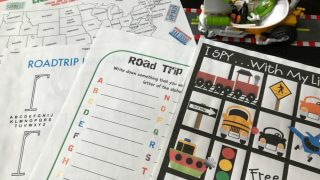 Sanity Saving Road Trip Activities, Games and Printables