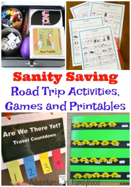 road trip games activities and printables