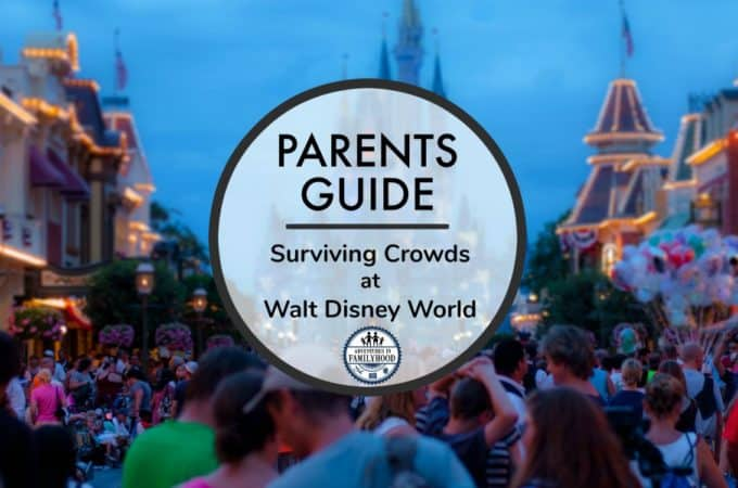 surviving crowds at walt disney world