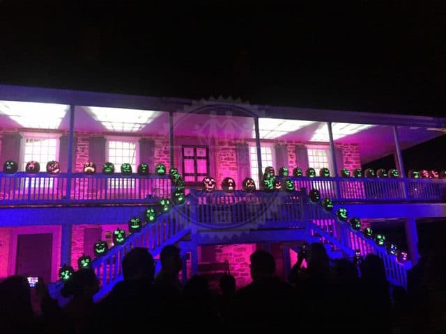 Great Jack O'Lantern Blaze Van Cortlandt Manor Lights