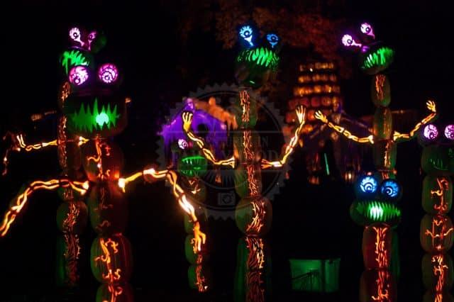 Great Jack O'Lantern Blaze Alien Plants
