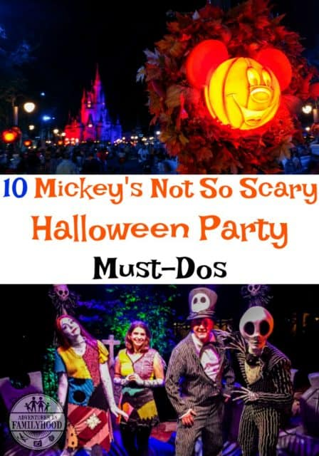 Don't leave Mickey's Not So Scary Halloween Party without experiencing these 10 Must Dos | Walt Disney World