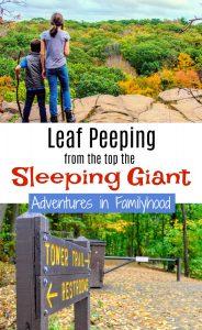 Leaf Peeping on the Sleeping Giant