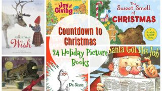 24 Holiday Picture Books to Countdown to Christmas